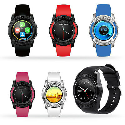 Sports Bluetooth Smart Wrist Watch Activity Tracker For IOS Android iPhone