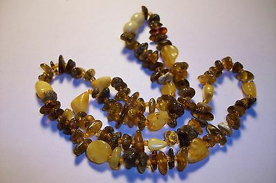 Vintage Baltic Amber Necklace 9.1 Gram