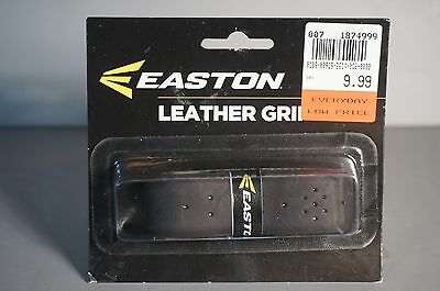 Easton Leather Grip Black 2006673 Perforation Pattern New