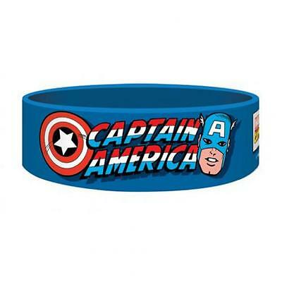 Marvel Comics Silicone Wristband Captain America Official Merchandise