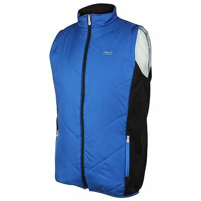 2017 Island Green Full Zip Thermal Quilted Padded Gilet Mens Golf Vest