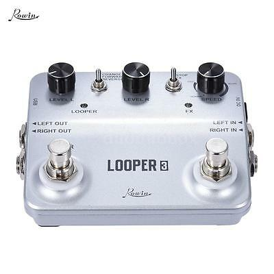 Rowin LOOPER3 Sound Recording Guitar Effects Pedal Surface with USB Cable S7Z7
