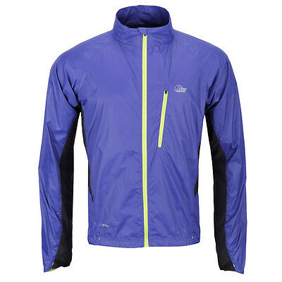 Lowe Alpine Lithium Pertex Running Jacket Full WP Zip, No Hood Mens RRP £60