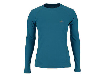 Lowe Alpine Dryflo 120 Ladies Running Multisport Base Layer Long Sleeve RRP £30