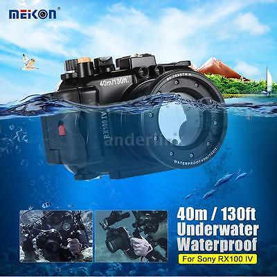 MEIKON Underwater Waterproof Camera Housing Case Cover Bag for SONY RX100-Ⅳ A4M5