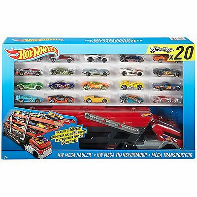 New Hot Wheels City Mega Hauler with 20 Die Cast Cars/Vehicles  Set 2016