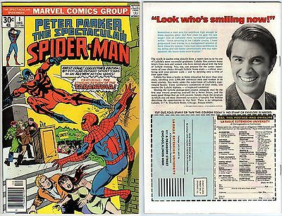 Peter Parker the Spectacular Spider-Man v1 1 Marvel Comics USA 1976 Tarantula
