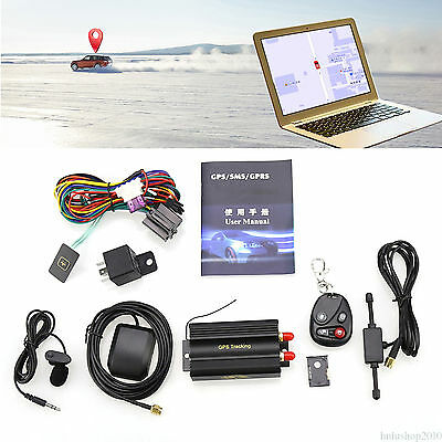 Car Spy SMS/GPS/GSM/GPRS Tracker Tracking Realtime System Equip TK103B Precisely