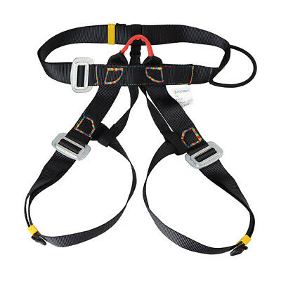 Safety Rock Tree Climbing Rappelling Harness Seat Sitting Bust Belt Equip
