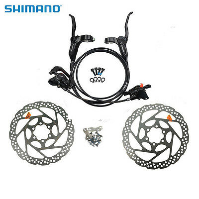 SHIMANO M315 Hydraulic Disc Brake Set Front & Rear RT56 Rotors Disc Brake Set