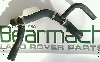 Land Rover Defender TD5, Top Radiator Hose with Bleed Screw, 98-06, PCH114600R