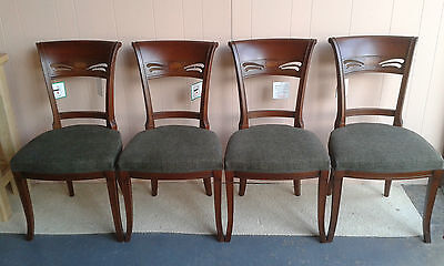 Mc Donagh K1820 Queen Anne Style Mahogany Dining Chairs