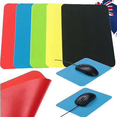 2x Silicone Mouse Pad Laptop PC Computer Mat Mice Gaming Game Mousepad SMPAD 46