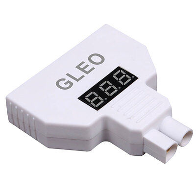 Dual Ports Battery Voltage Tester Monitor Display For Yuneec Q500 / H480 Typhoon