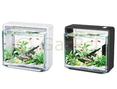 HAILEA E15X Aquariumset ECO LED Aquarium Komplett SET weiss schwarz Aquascaping
