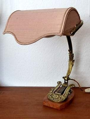 Beautiful rare art-nouveau table lamp 1915 from france