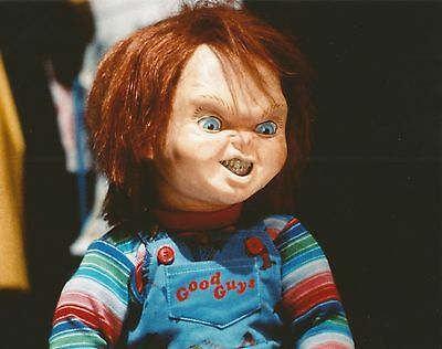 Chucky Doll Child's Play Good Guy Movie Color 8X10 Photo
