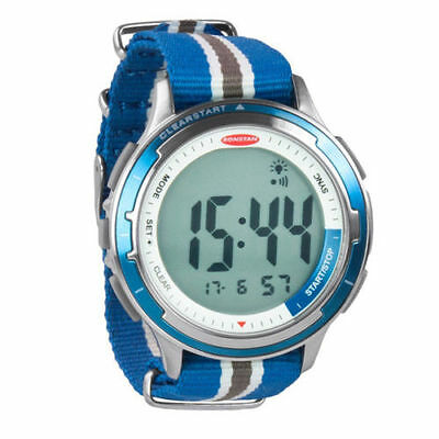 Ronstan Clear Start Stainless Steel Sailing Watch with Canvas Strap RF4053A