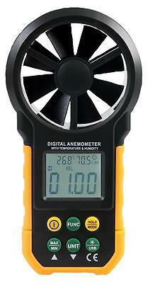 Duratool - D02378 - Anemometer With Temp, Logging