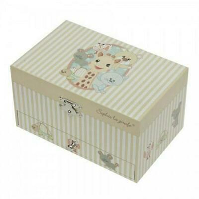 Trousselier Sophie The Giraffe Large Music Box With Drawer