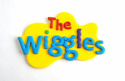 WIGGLES CAKE TOPPER !!!!  Approximately 14cm..  WOW!!