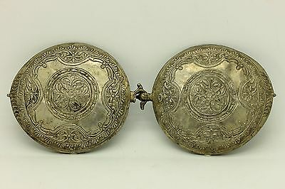Antique Original Perfect Alpacca Anatolian Ottoman Belt Buckle