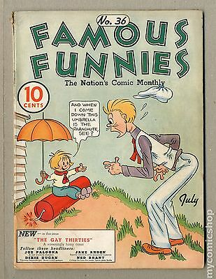 Famous Funnies (1934) #36 GD/VG 3.0