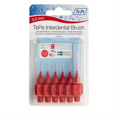 0.5mm Tepe Rouge Brosses Interdentaires - Brosse Interdentaire Dents Gomme