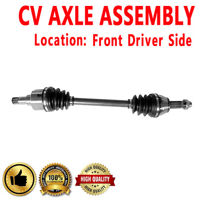 Complete Front Driver Side CV Axle Shaft Ford Focus 2000-2009 Automatic