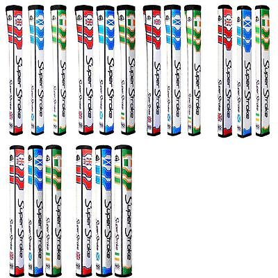 SALE!!! Super Stroke Backweight Golf Putter Grips with CounterCore-National Flag