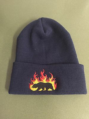 Los Angeles County Fire Dept Flame/Bear Beanie
