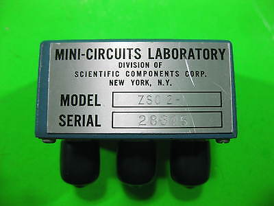 Mini Circuits Power Splitter 0.1-400MHz -- ZSC-2-1 -- Used
