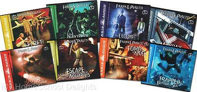 NEW Complete Sealed 8 COOPER KIDS Adventure Series on 30 AUDIO CDs Frank Peretti