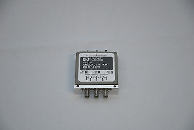 Hewlett Packard 8762B Coaxial Switch DC To 18GHz
