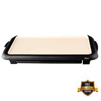Oster Electric Griddles Dura Natural Ceramic Warming Tray Mat Family Size Meals