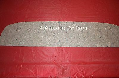 Markets Best 1964-1965 Gto  Package Tray Insulation 64 65