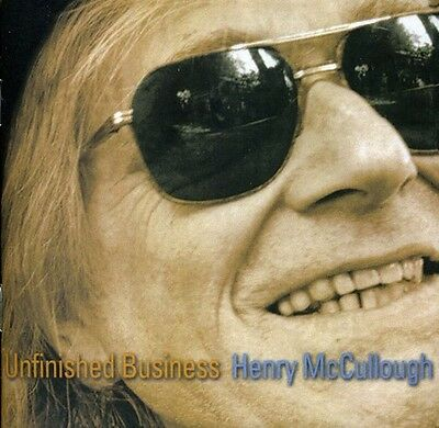 Henry McCullough - Unfinished Business [New CD] Jewel Case Packaging