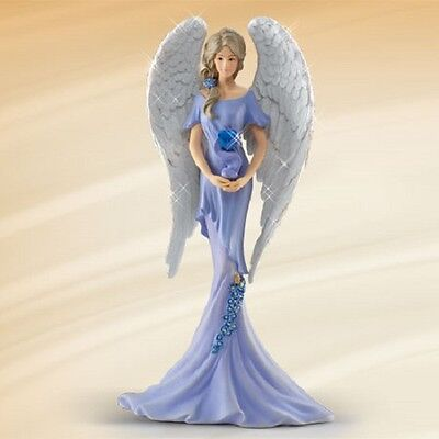 Angel of Commitment Angels of Caring Figurine Thomas Kinkade  Bradford Exchange