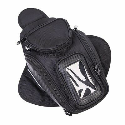 Magnetic Motorcycle Scooter Motorbike Oil Fuel Tank Bag for Phone / GPS