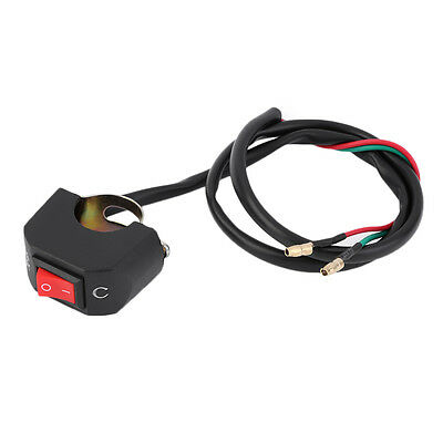 Universal Handlebar Motorcycle Kill Switch ON/OFF Button Connector New ZY