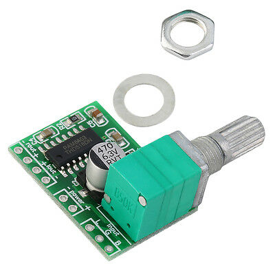 Ultra-small PAM8403 USB 5V Digital Amplifier Board Audio Stereo Power Amps ZY