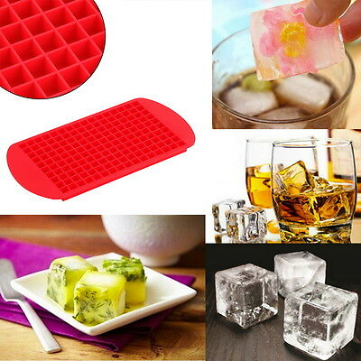 1pc 160 Ice Cubes Frozen Mini Cube Silicone Ice Mold Mould Tray Kitchen Tool ZY