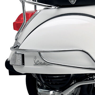 Vespa Genuine Chrome Rear Protection Bars for PX150 673719