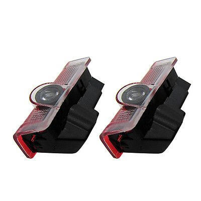 2X Ghost LED Door Step Welcome Shadow Laser Light For Mercedes AMG E-CLASS