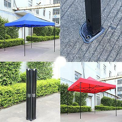 3X3m Pop-up Waterproof Sunshade Outdoor Gazebo Party BBQ  Marquee Canopy Tent