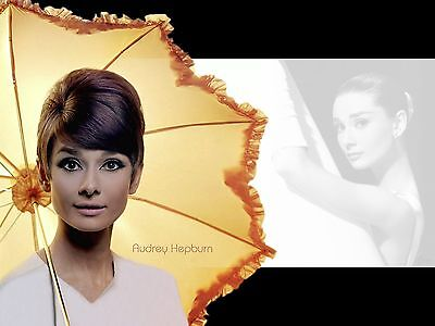 Audrey Hepburn 1 ..Retro Promotional Poster A1A2A3A4Sizes