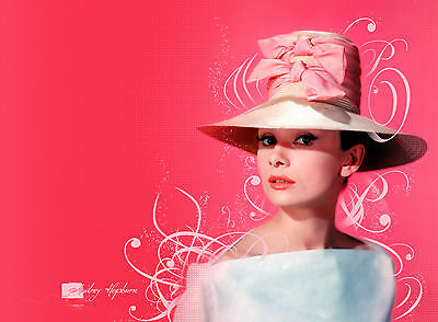 Audrey Hepburn 2 ..Retro Promotional Poster A1A2A3A4Sizes