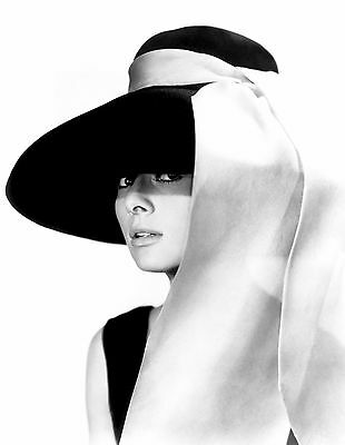 Audrey Hepburn 3 ..Retro Promotional Black & White Poster A1A2A3A4Sizes