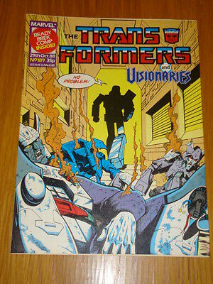 Transformers British Weekly #189 Marvel Uk Comic 1988
