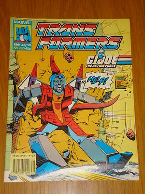 Transformers British Weekly #280 Marvel Uk Comic 1990